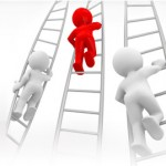 picture of seo consultants climbing a ladder